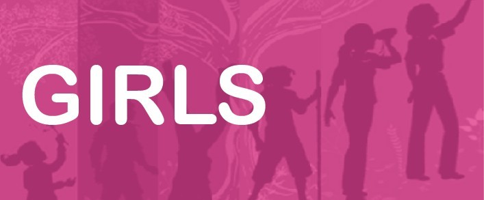 completed girls activity header