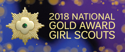 2018 Gold Award Girl Scouts